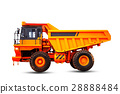 truck with a white background. 28888484