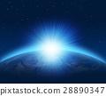 地球的黎明地球陽光 28890347