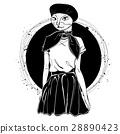猫 猫咪 女性 28890423