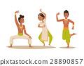 印度 舞者 印度人 28890857