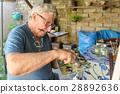 Senior Man painting 28892636