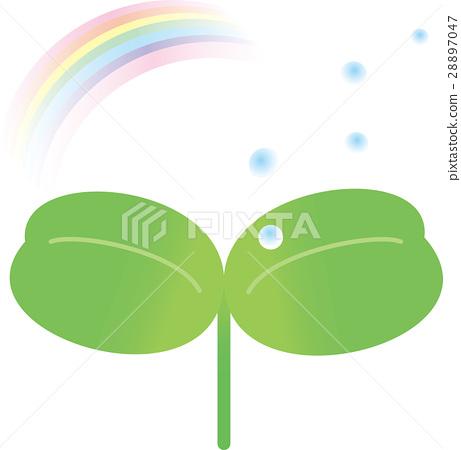 盒蓋葉子彩虹waterdrop 28897047