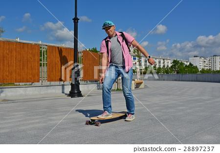 Longboard rider 28897237