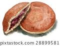 dorayaki, confectionery, snack 28899581