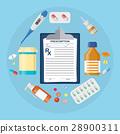 medical pill tablet 28900311