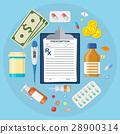 medical pill tablet 28900314
