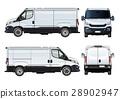 vector, van, isolated 28902947