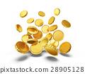golden coins 28905128