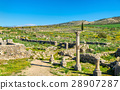 Ruins of Volubilis, a Berber and Roman city in 28907287