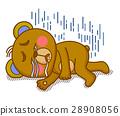 可愛い動物 キャラクター 28908056