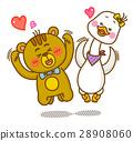 귀여운 동물 캐릭터 28908060