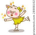 可愛い動物 キャラクター 28908102