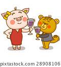 캐릭터, 동물, 기념일 28908106