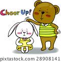 可愛い動物 キャラクター 28908141