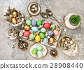 Colored Easter eggs Table decoration 28908440
