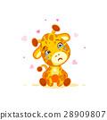 Emoji crying tears character cartoon Giraffe miss 28909807