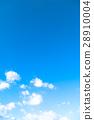天空 白雲 藍天 28910004