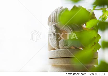 印尼石刻,燈具,旅館 28910064