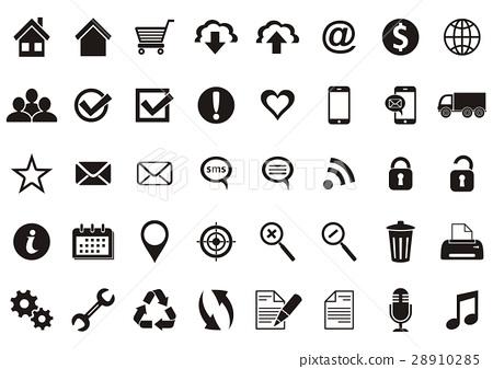 Web icons 28910285