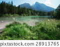 lake, hintersee, mountain 28913765