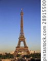 Eiffel Tower and Paris 28915500