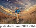 extreme brutal man traveler wildlife autumn 28915966