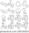 平衡 小型摩托车 图标 28916830