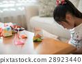 ศิลปะพับกระดาษ,โอริกามิ,เด็กผู้หญิง 28923440