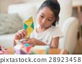 ศิลปะพับกระดาษ,โอริกามิ,เด็กผู้หญิง 28923458
