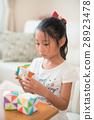 ศิลปะพับกระดาษ,โอริกามิ,เด็กผู้หญิง 28923478