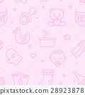 Pastel Seamless Baby Pattern 28923878
