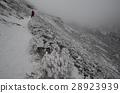 Climbing the snow mountain 28923939