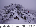 Climbing the snow mountain 28923944