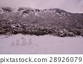 Snow Mountain Circle Snowman 28926079