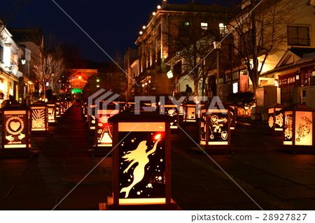 Zenko Temple lantern festival 28927827