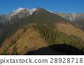 Snow mountain winter scene 28928718