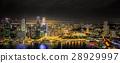 Singapore Skyline and view of Marina Bay 28929997
