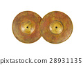 Close up of an prcussion cymbals  28931135