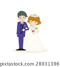 婚禮婚禮新娘和新郎 28931396