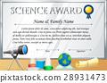 certificate, award, prize 28931473