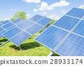 Green energy.Solar panel. 28933174