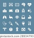 医疗图标集 28934793