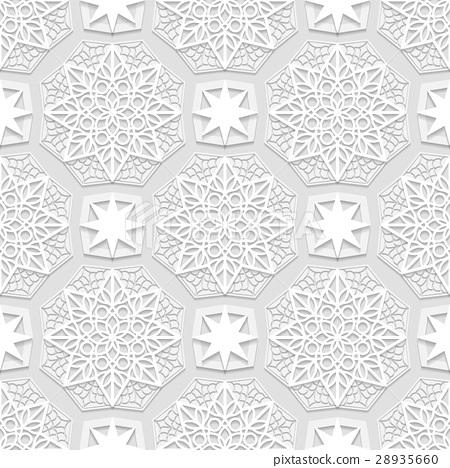 seamless arabic geometric pattern east ornamen stock illustration 28935660 pixta pixta