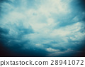 Dark clouds before a thunder-storm 28941072
