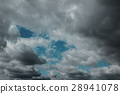 Dark clouds before a thunder-storm 28941078
