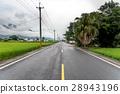 Empty Straight road 28943196