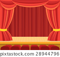 theater, scene, red 28944796