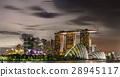Singapore Skyline and view of Marina Bay 28945117