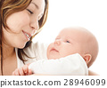Mother smile to her child 28946099