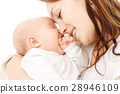 Mother smile to her child 28946109